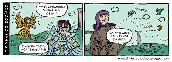 Tirinhas do Zodiaco
