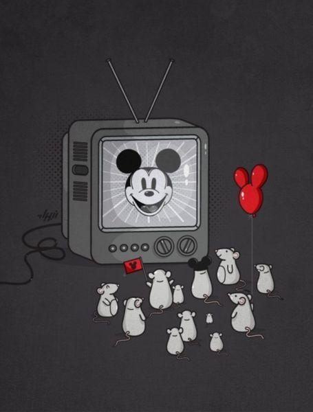 Ratos com primo famoso.
