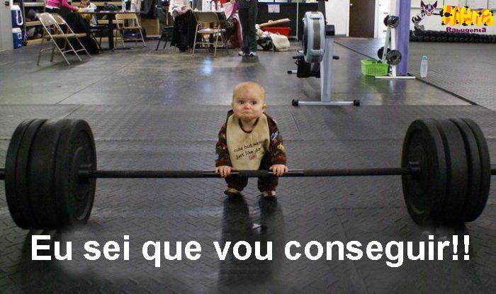 bebe fortao - motivacional