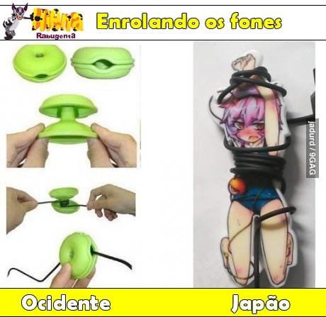 fones japoneses