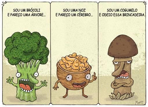 piada com legumes