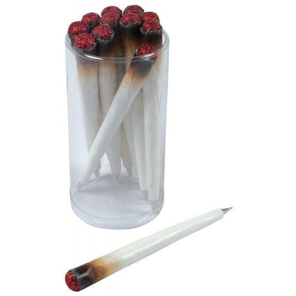 Canetas em forma de cigarro acesso