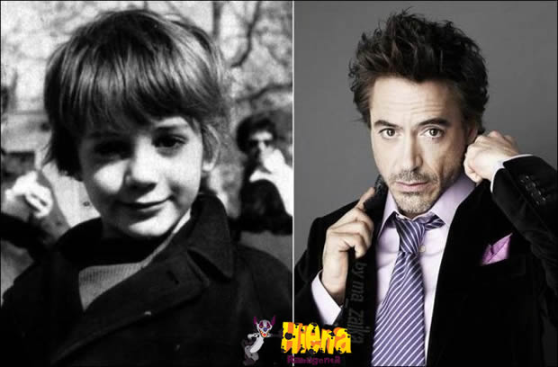 Robert John Downey Jr antes da fama